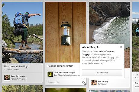 Beispiele für Pinterest Promoted Pins
