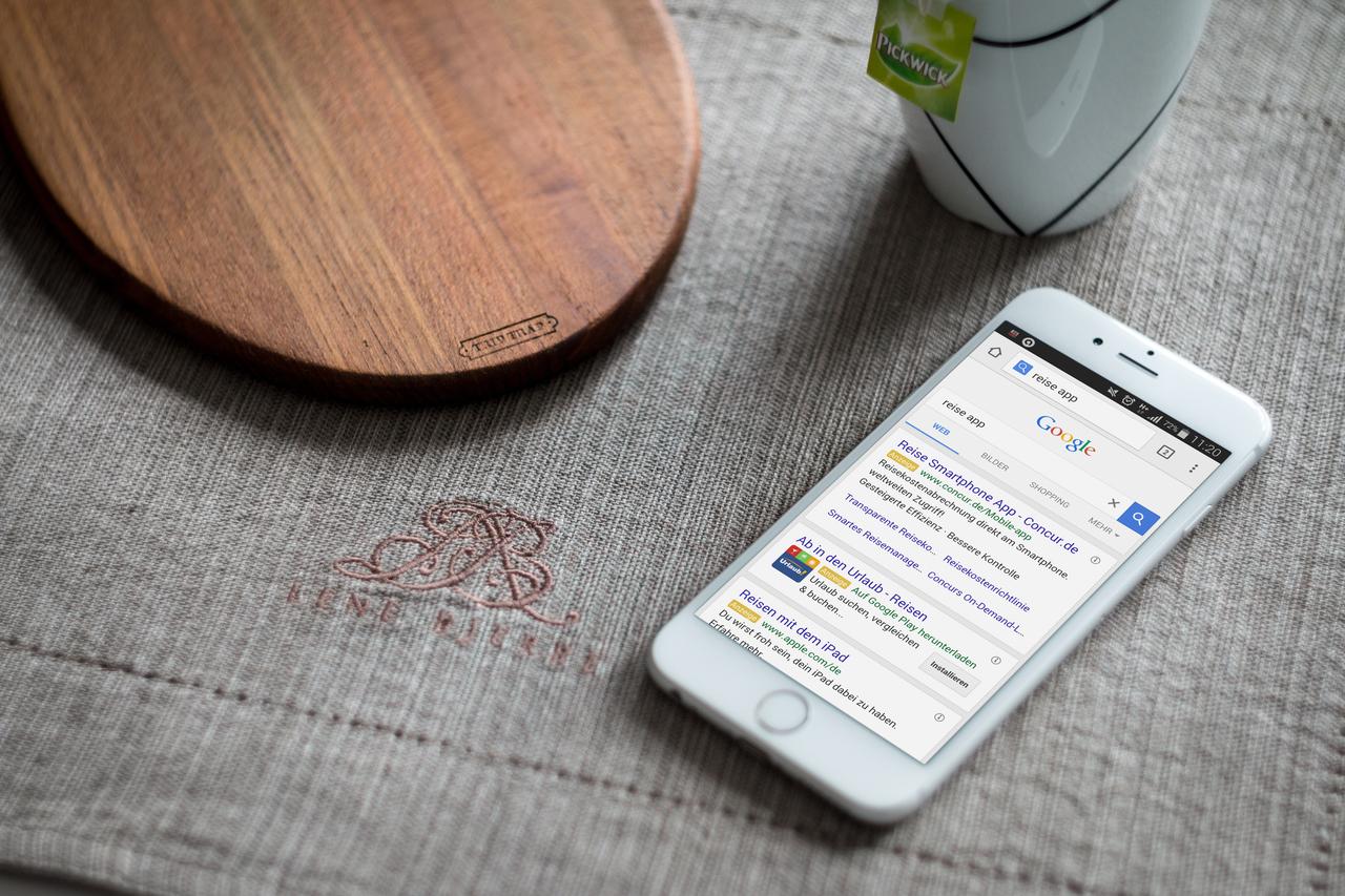Apps mobile bewerben