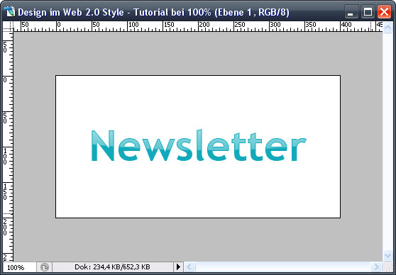 Web 2.0 Glossytext