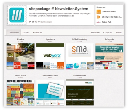 sitepackage:// auf Pinterest folgen