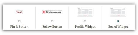 Neue Pinterest Widgets und Buttons