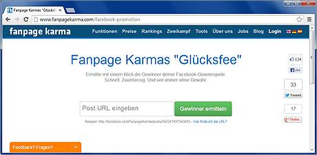 Fanpage Karma Glücksfee